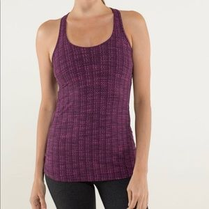 Lululemon Cool Razorback Ziggy Wee August Glo 12